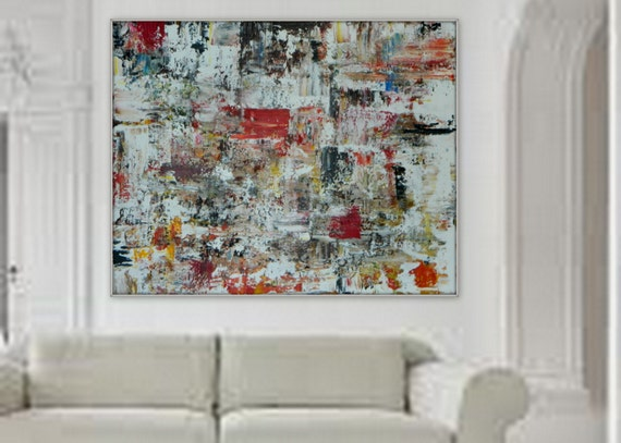 XXL, HUGE Large  Original Modern Contemporary Abstract wall art/ decor painting on canvas