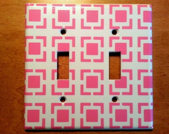 Morocco double light switch cover. Decal only!