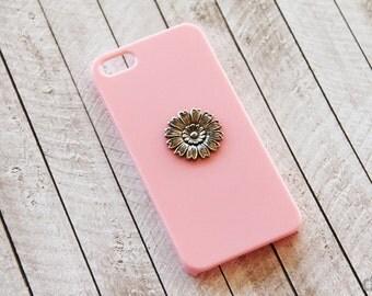 Flora iPhone 5 iPhone 5c Flower SunFlower Case iPhone 7 Plus iPhone5 SunFlower Pink iPhone 7 Plus Flower iPhone 7 Flora Case Pink iPhone 5c