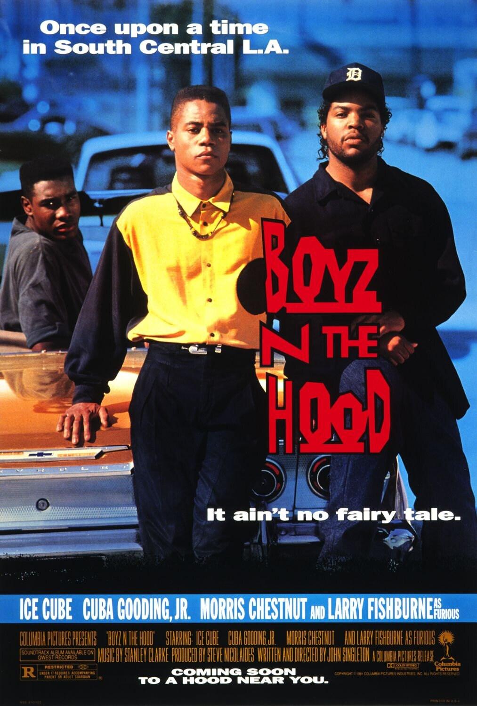 boyz n the hood movie poster