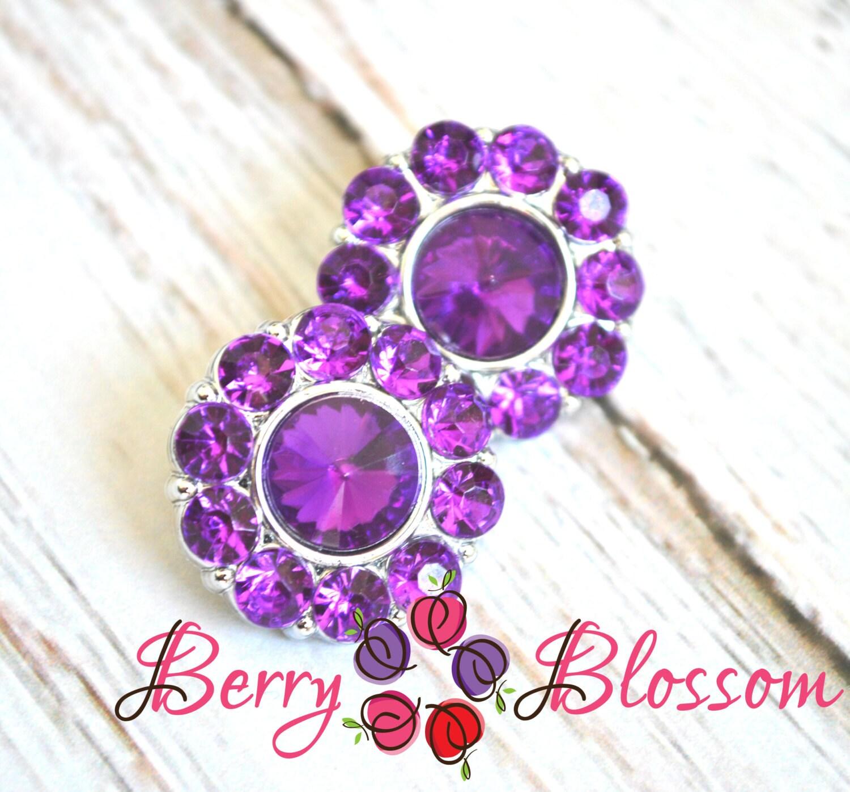 Hair bow button accessories -  2 99