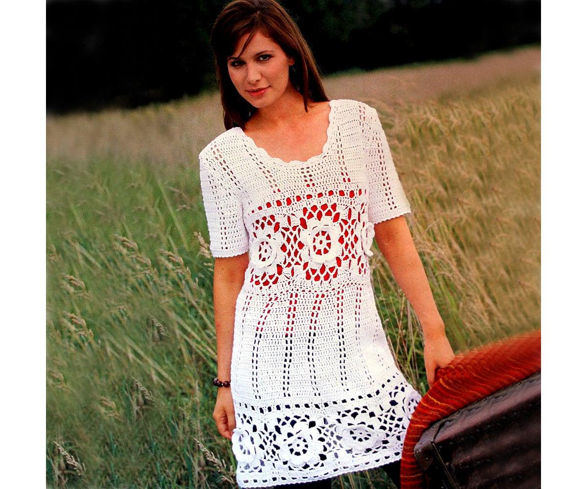 Boho Tunic Pattern Crochet Boho Tunic Pattern