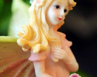Fairy photograph-photography card-fairy card-fairy