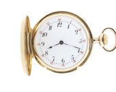 18K Gold Pocket Watch Patek Philippe Movement
