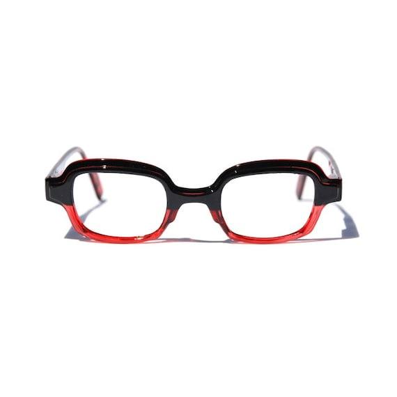 Red & Black Square Reading Glasses, Optical Frames, Custom ... | 570 x 570 jpeg 13kB