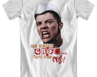 Guy Named Griff... Just Say No! - Back To The Future Inspired T-Shirt