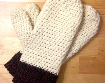 Warm Wool Mittens