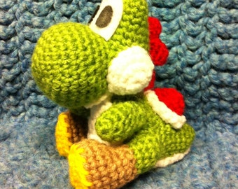 Yoshi Amigurumi (Crochet Pattern PDF)