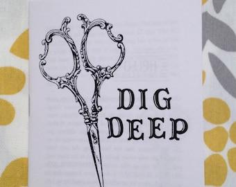 dig deep zine #4