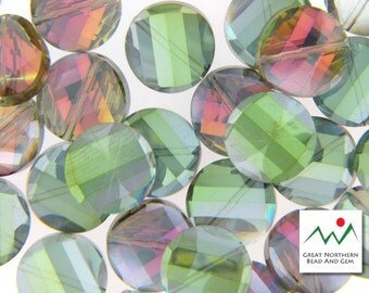 Faceted Twist Shaped Crystal #CRY061709