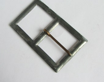 Vintage Metal Buckles to Cover in Fabric, Belt Buckle Blanks, Original from 1960s, never used!!