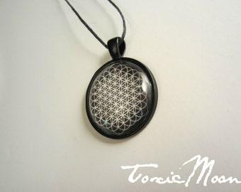 Bring Me The Horizon Sempiternal Album Symbol Glass Dome Necklace w/ Adjustable String