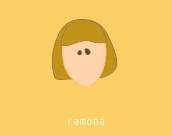 Ramona:  5x7 digital file