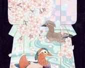 Mandarin Duck Kimono pain...