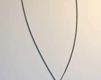 Charcoal/Silver Necklace