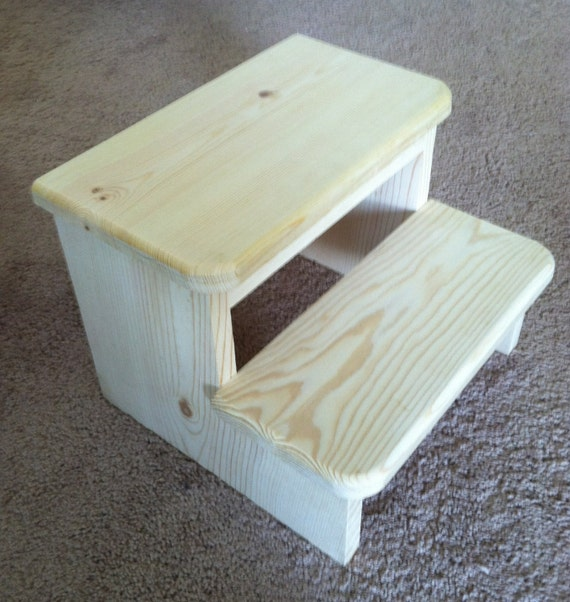 Small Child 39 S Wooden Step Stool