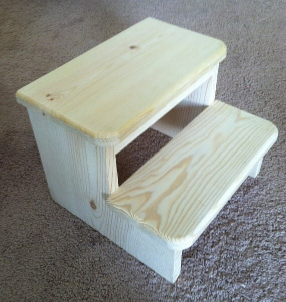 Small Child S Wooden Step Stool
