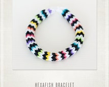 Rainbow Loom Bracelet Hexafish Party Favors