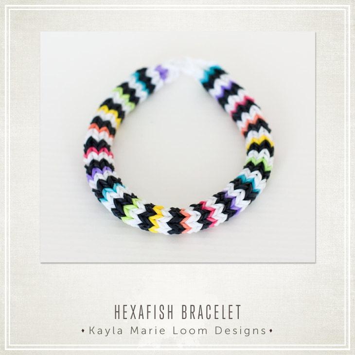 Mini Rainbow Loom Bracelet Rainbow Loom Bracelet Hexafish