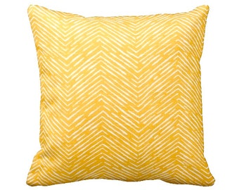 7 Sizes Available: Throw Pillow Cover Decorative Pillow Yellow Pillow Herringbone Pillow Yellow Home Decor Sofa Pillow Accent Pillow