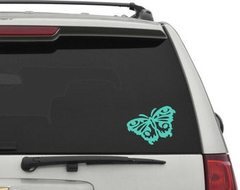 Butterfly Car Decal Etsy - Modern car sticker decal