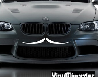 Mustache Vinyl Wall Decal Or Car Sticker - Mvd008ET