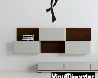 Ribbons Vinyl Wall Decal Or Car Sticker - Mvd010ET