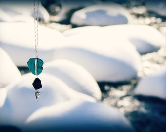 Turquoise River Necklace <<>>