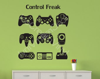 Gamer Gifts Gamer Decal Man Cave Kids Room