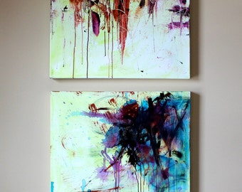 ORIGINAL Abstract Colorful Painting (set)