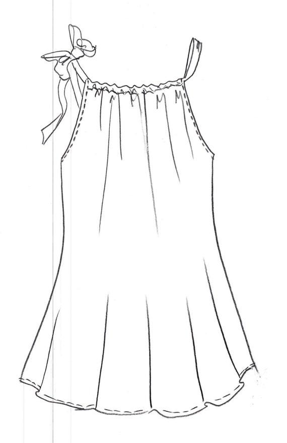 Pillowcase Dress Pattern Pillow Case Dress Pattern Size