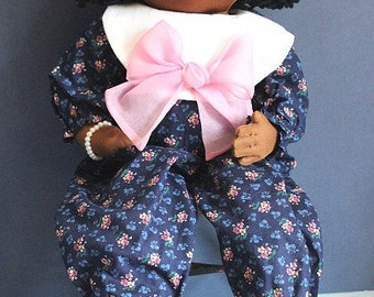 26 inch soft sculpture cloth doll