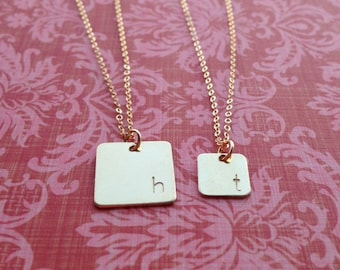 Square Charm Necklace