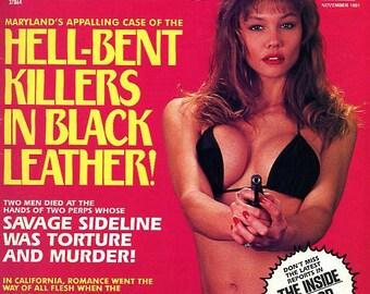 5 Detective Magazines   Jersey's Sex Killer    Savage Screwdriver    Raging Oddball    (5) Crazy Magazines  Wild Crazy Stuff WoW    mature