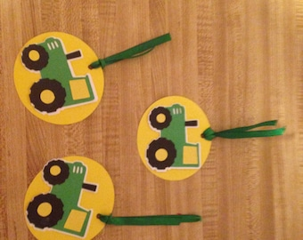Set of 10 Tractor Tags