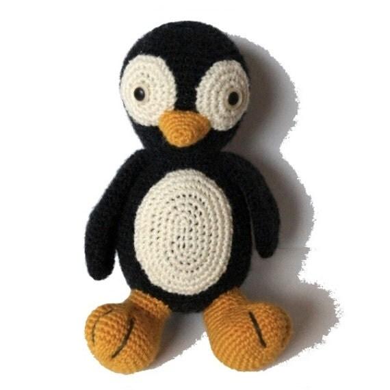 Amigurumi Crochet Penguin Pattern : Penguin Amigurumi Crochet Pattern PDF by MaijaHandmade on Etsy