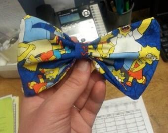 The Simpsons hair bow.
