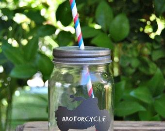8+ MOTORCYCLE Chalkboard Labels - ATV Chalkboard label -  Chalkboard Vinyl - Motorcycle Party Favor - Party Favor - Mason Jar Labels