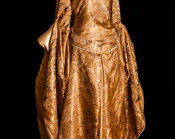 Lord of the Rings Gold Eowyn Fantasy Gown