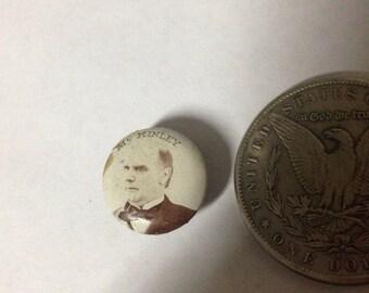 McKinley Rare Campaign Button 1900