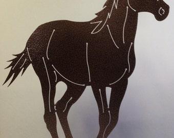 Metal Horse Decoration