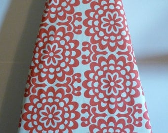 Coral Floral Ironing Board Cover