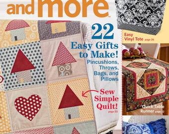 Quilts and More Magazine, Winter 2011