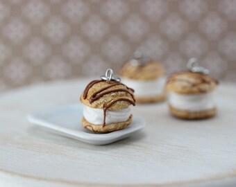 Cream Puff Charm / Pendant
