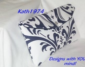 Navy Clutch - Bridesmaid Clutch - SALE - Purse - Envelope Clutch - Premier Prints - Traditions Navy Blue - Bridesmaid Gift - Birthday Gift