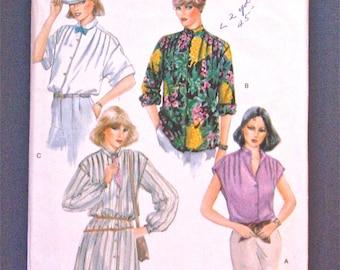 Vintage Vogue 7304 Blouse Pattern  Bust 30.5 inches