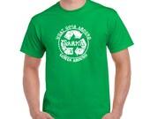 Karma tshirt recycle meditation yoga college humor hip cool light blue green t shirt
