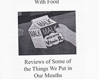 My Complicated Relationship With Food, Vol. 1 (Zine)