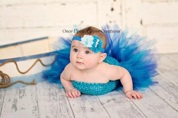 Under The Sea Seahorse Headband Newborn Baby Hairbow