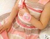 Ring bearer for babies, flower girl corsage, ring bearer, wrist fabric flower corsage, bridal corsage, ring bearer corsage, toddler corsage
